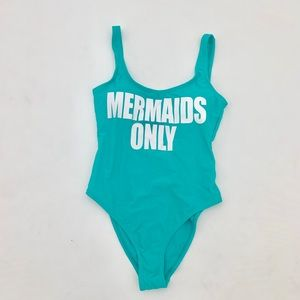 NEW Mermaids Only One Piece Swimsuit Small